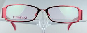 FIORUCCI-FO-3013-Brillengestell-Rot-Damen-Vollrand-Eyeglasses-Handler-NEU