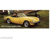 1973 Triumph Spitfire 1500 Fridge Magnet