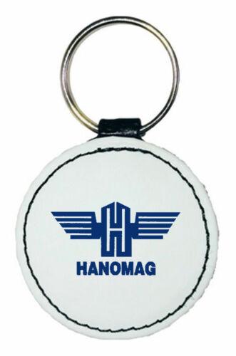 Hanomag Schlüsselanhänger aus LederrundDruck farbig320-LR-01