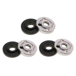 6x/Set Flangia Dadi di Bloccaggio in Acciaio PIN piastra di montaggio accessori per smerigliatrice angolare parte