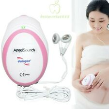 FDA & CE Approved Fetal Angelsounds Prenatal Heart Rate Monitor Doppler 3MHz