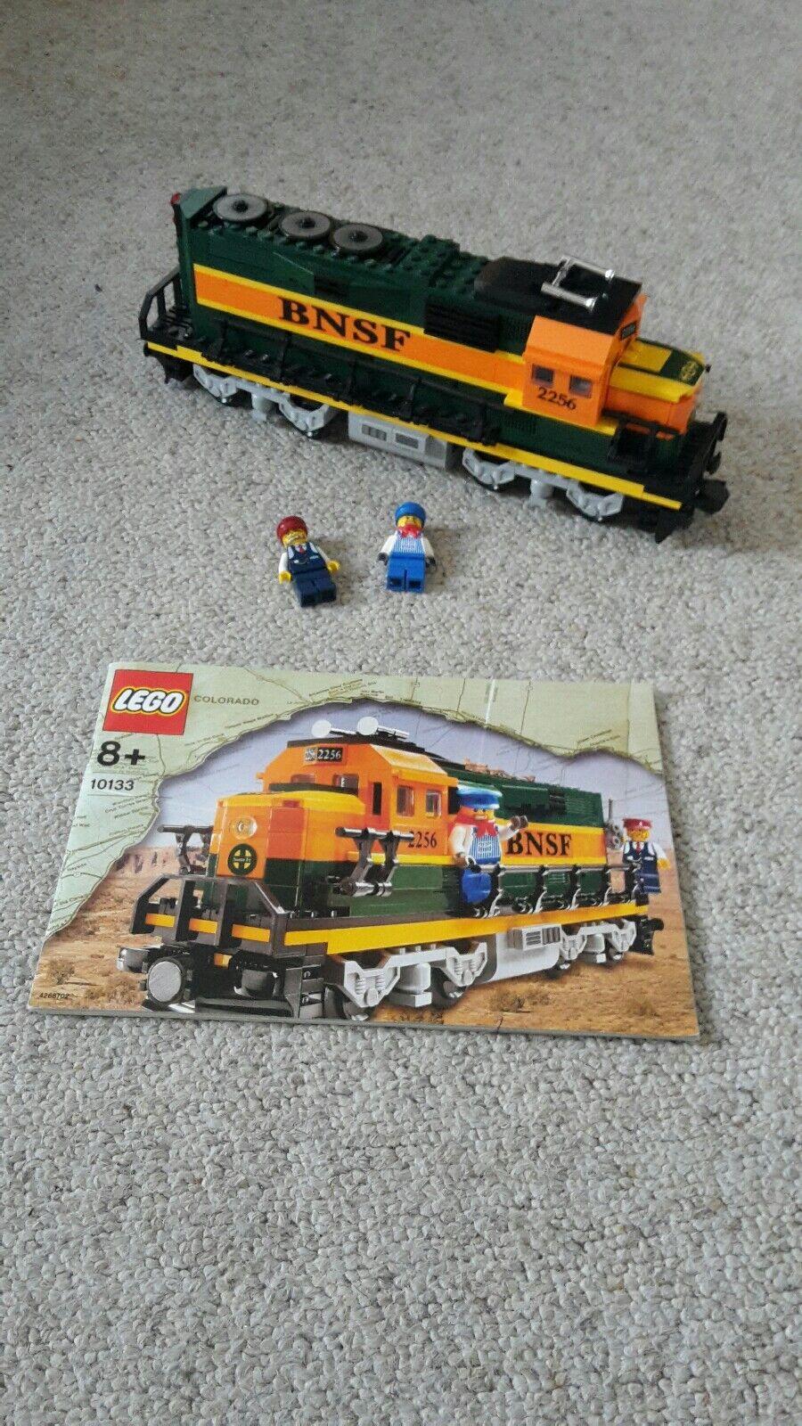 LEGO 10133 Burlington Northern Santa Fe BNSF mit OBA - gebraucht -