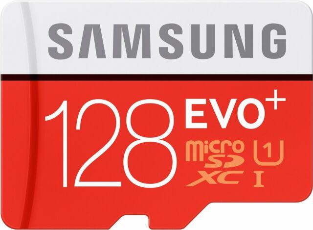 128GB Samsung EVO plus 80MB/s Class 10 SDXC MicroSD Karte Speicherkart Adp md