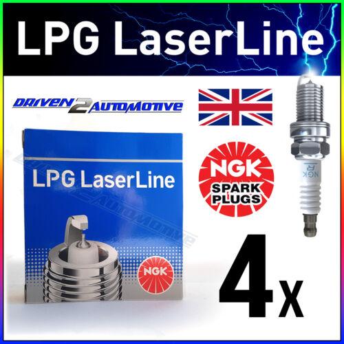 NGK 4x LPG4 #1511 LASERLINE Candele Ford Mondeo I /& II 2.0 03//93 /> 10//00