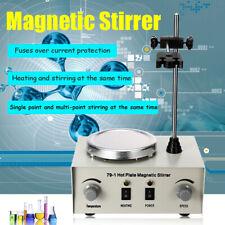 1000ml Magnetic Stirrer With Heating Plate Digital Hotplate Mixer Stir Bar 70 80