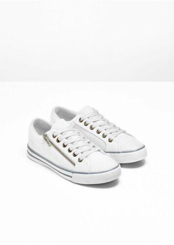 964017 in Weiß 40 Neu Lederimitat Sneaker