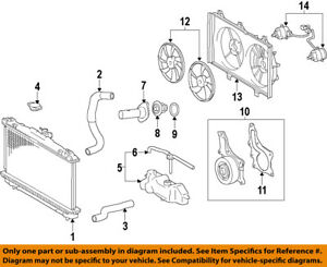 image is loading toyota-oem-12-16-camry-radiator-cooling-fan-
