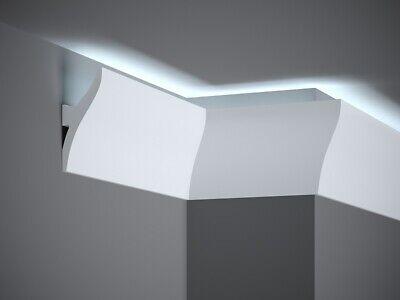 LED taugliche Deckenleiste I 200 x 12 x 4,2 cm Mardom Decor QL010