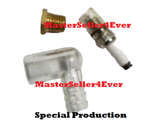 Spacial Adapter For Spark Plug Blue Engine Hit /& Miss And Protection Cap