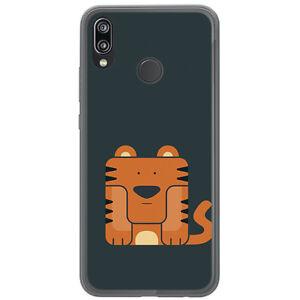 Huelle-Gel-TPU-fuer-Huawei-P20-Lite-Design-Tiger-Muster