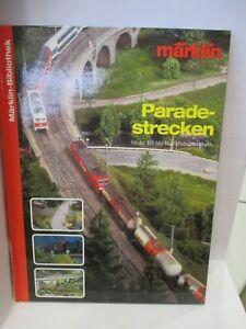 ab356a22e046ff Das Bild wird geladen Maerklin-Bibliothek-Paradestrecken-fuer-die-H0- Maerklin-Modelleisenbahn-