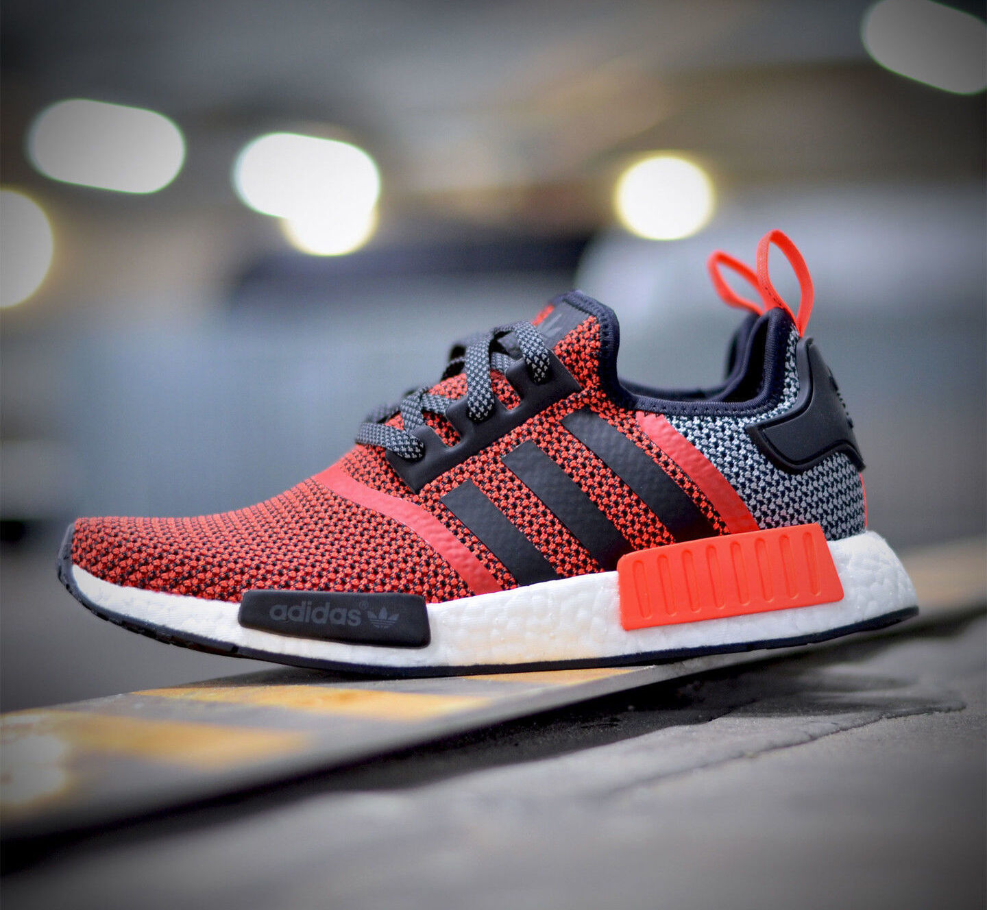 Adidas NMD R1 Runner S79158 Lush Red ( All Size Knit ) PK Boost OG Knit Size Limited Rare 00c874
