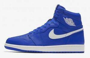 Nike Air Jordan Retro 1 OG Hyper Royal Blue Sail White 555088-401 ... a6d3d8506600