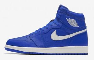 Nike Air Jordan Retro 1 OG Hyper Royal Blue Sail White 555088-401 ... c8b4452f691a