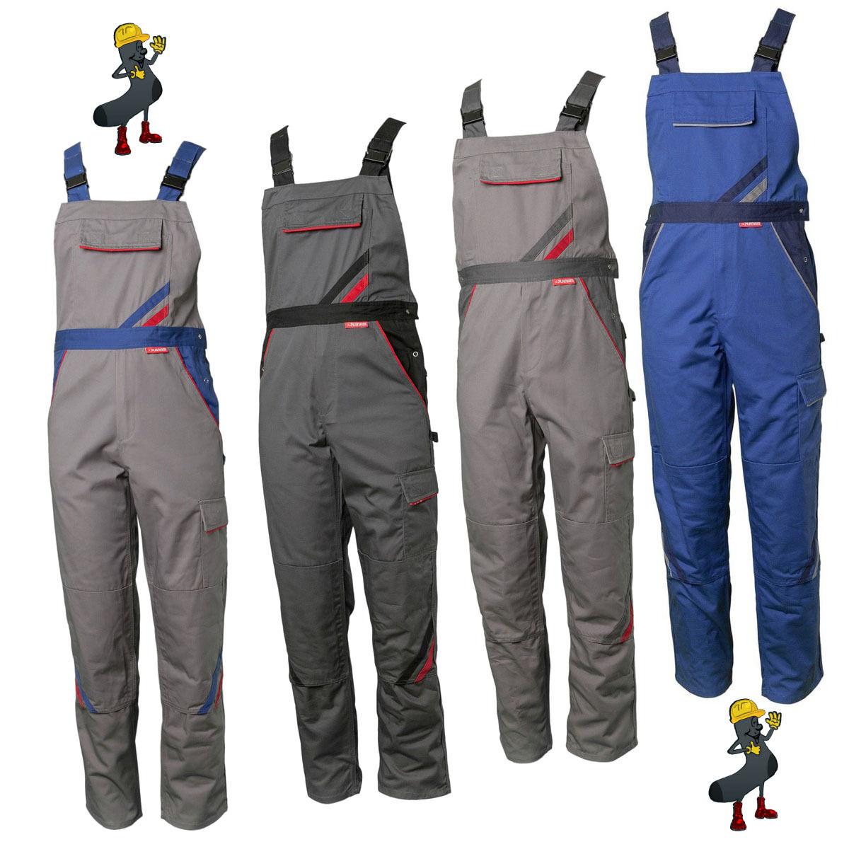 Salopette da lavoro pantaloni Abbigliamento di fabbro Planam Multicolore