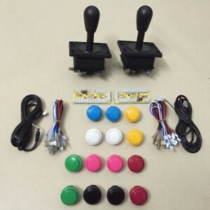 Details about Arcade game DIY parts kit Zero delay USB interface to  joystick and button