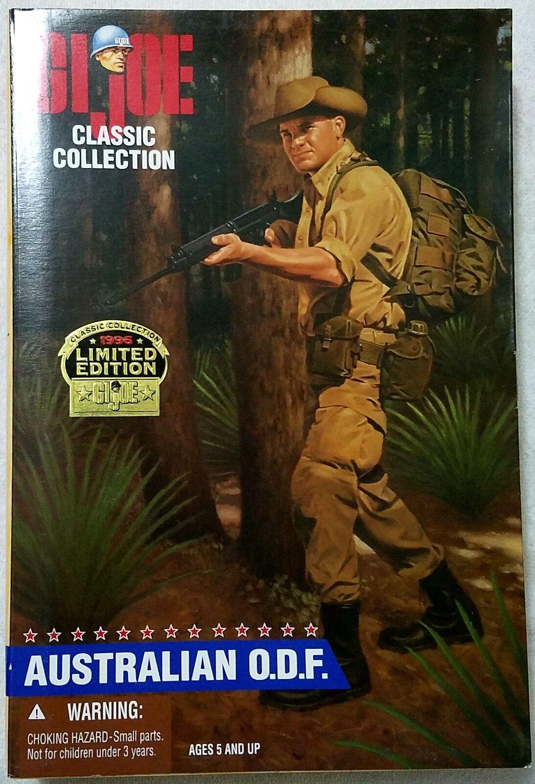 GI JOE Classic Collection Limited Edition Australian O.D.F. MIMP MIMB MIP MIB