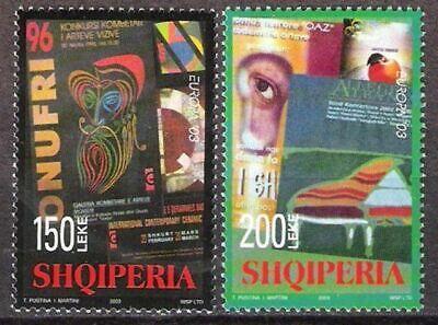 Albanien Nr.2928/29 ** Europa Cept 2003, Postfrisch