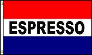 ESPRESSO Flag 3x5 Polyester