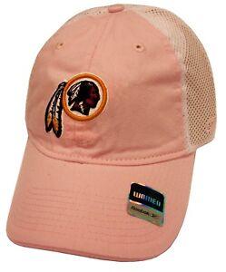 6c2087ca7e5 Image is loading Washington-Redskins-NFL-Reebok-Pastel-Pink-Slouch-Relaxed-