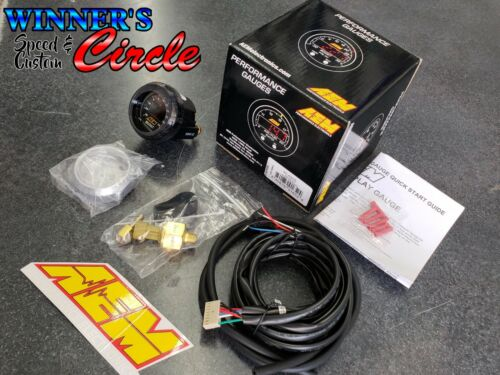 30 to 35 PSI AEM 30-4406 Digital Turbo Boost//Vacuum Gauge w// LED Interface