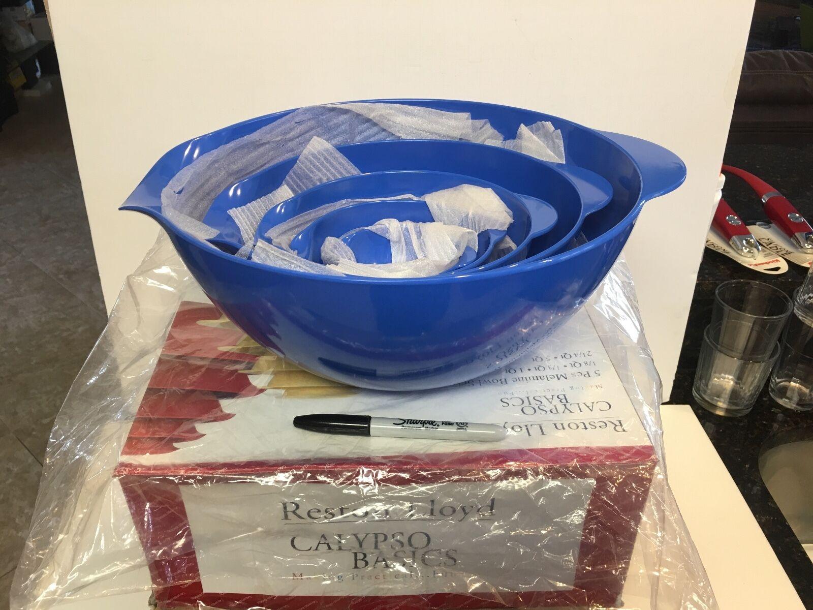 Reston Lloyd Calypso (Azur) bleu grand bol Set  LIVRAISON GRATUITE