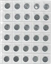 collezione di monete per la circolazione 1951-2001 278 monete mb/fdc TOP PRICE