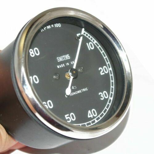 Replica Smiths Tacho Meter 5 - 80 Rpm Tachometer Universal For Bikes New