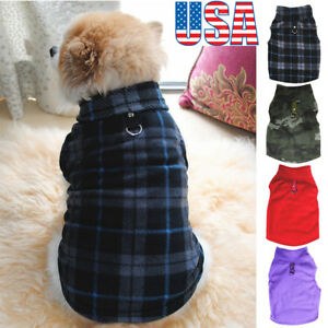 Pet-Dogs-Fleece-Jumper-Knitwear-Winter-Coat-Puppy-Chihuahua-Warm-Sweater-Clothes