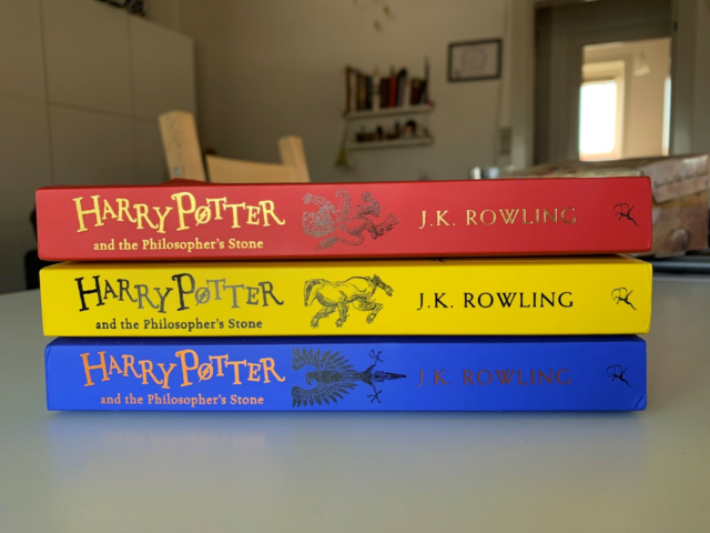 Harry Potter and the Philosopher's Stone, J. K. Rowling,…