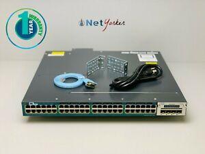 Cisco-WS-C3560X-48PF-L-48-Port-PoE-Gigabit-Switch-1-YEAR-WARRANTY