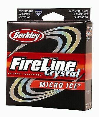 Berkley FireLine Micro Ice Crystal 2 lb test 50 yards NIP