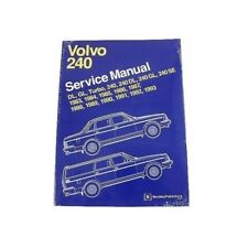 volvo 240 242 244 245 repair manual bentley v08000293 ebay rh ebay com Volvo 244 GLE 83 Volvo 240 GLE