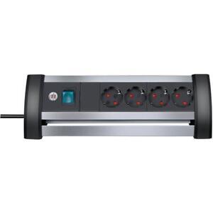 Steckdosenleiste 3 fach H05VV-F 3x1,5mm² und extra Wandhalterung 1,5m bis 5,0m