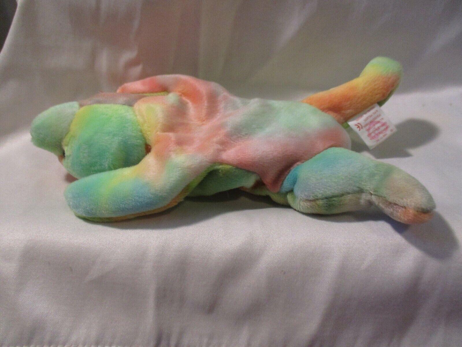 TY Beanie Babies Original Sammy 5th Generation Hologram