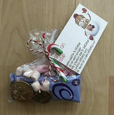 Personalised Snowman Soup Christmas Eve Sweet Treat Novelty Gift Idea With Poem Ebay