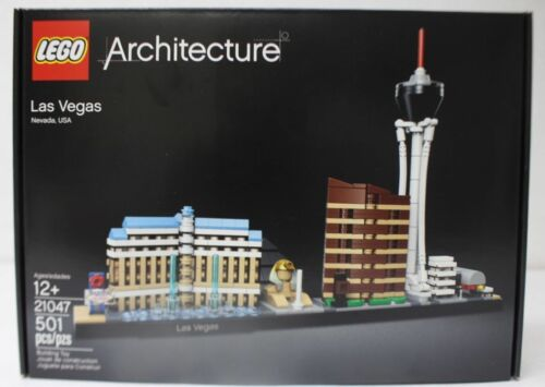 LEGO 21047 Architecture Las Vegas 501pcs New in Hand Free Shipping