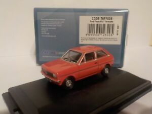 Ford-Fiesta-Mk1-orange-Model-Cars-Oxford-Diecast