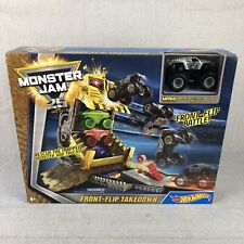 Hot Wheels Djk63 Monster Jam Pirate Takedown Play Set For Sale Online Ebay
