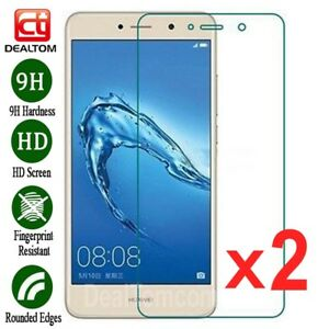 2Pcs-Premium-Tempered-Glass-Screen-Protector-For-Huawei-Y3-Y5-Y6-Y7-2017-WSW