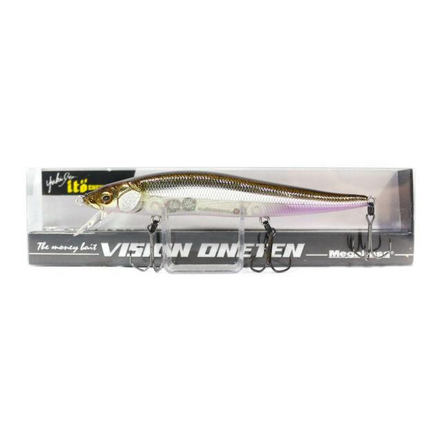 Megabass Vision 110 Oneten Regular Slow Floating Lure MG Vegitation React 3320