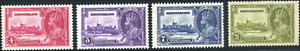 Newfoundland-226-229-mint-VF-OG-NH-HR-1935-KGV-Silver-Jubilee-Issue-Set