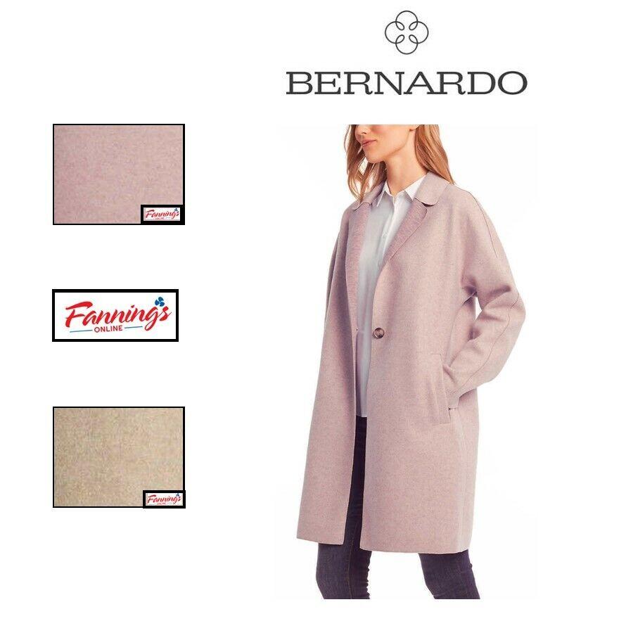 SALE! Bernardo Ladies' Women's Open Front Overcoat Jacket Size/Color Variety C24