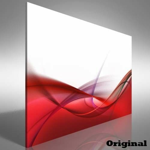 Abstract Sleek Silk Canvas Print Large Picture Wall Print