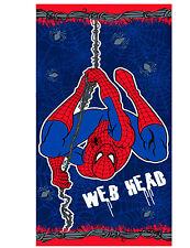 BOYS ULTIMATE SPIDER-MAN SENSE WEB HEAD BEACH / BATH TOWEL GREAT GIFT IDEAS