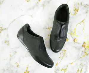 Cole-Haan-Womens-Air-Tali-Gore-Oxfords-Slip-On-Sneakers-In-Black-Size-6B