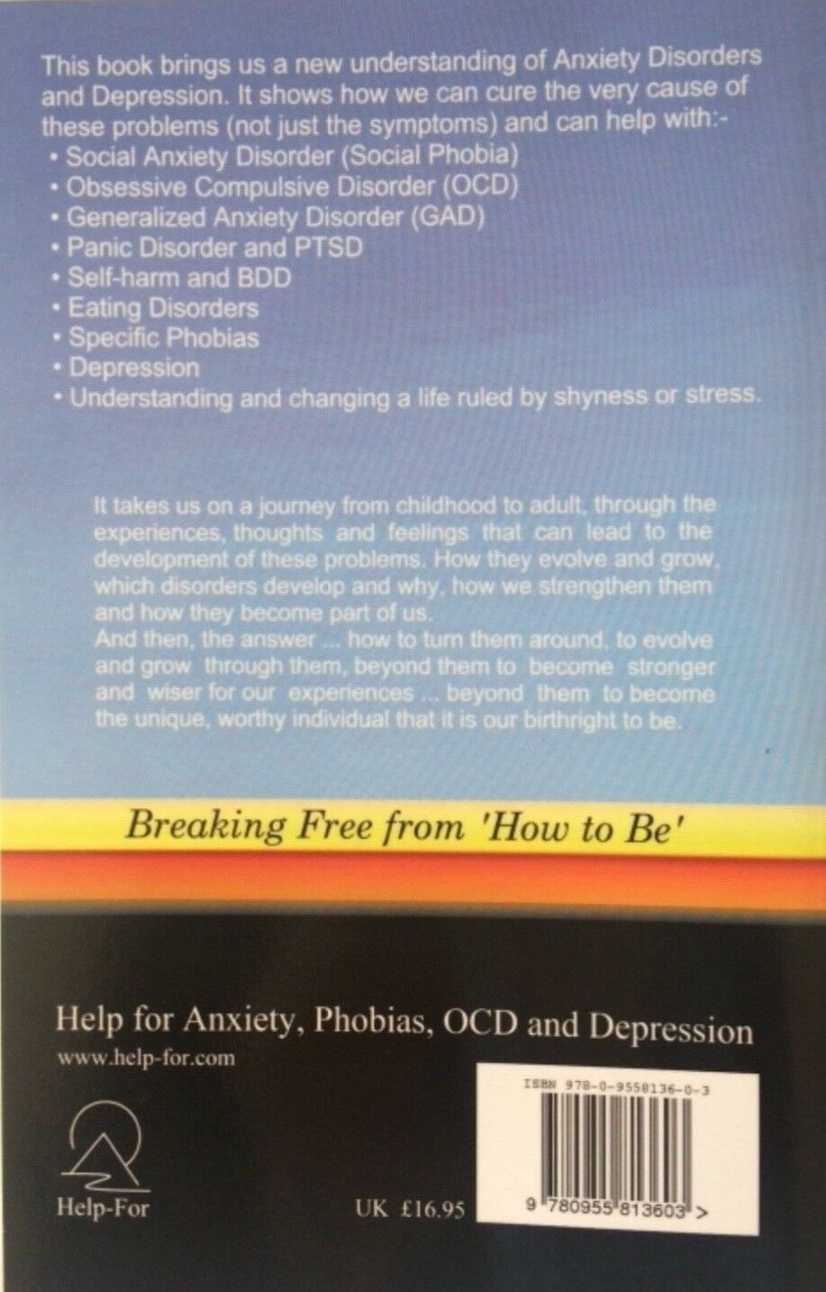 Evolving Self Confidence: How to Become Free from Anxiety Disorders and  Depression by Terry Dixon (Paperback, 2008)