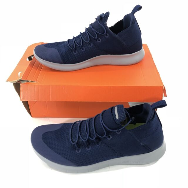 2add9cc2705b Mens Nike Free RN CMTR 2017 Blue Running Trainers Slip On Shoes 880841 400  12.5