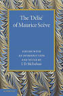 The 'Delie' by Maurice Sceve (Paperback, 2013)