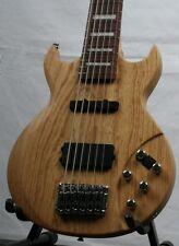 Acepro noble-e Bass, 6-Saiter, masivas Fresno-cuerpo, arce-cuello, activo